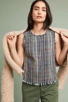 Maeve Sleeveless Tweed Blouse