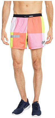 Nike Flex Stride Ultra Windrunner Print (Dark Smoke Grey/Iron Grey/Reflective Silver) Men's Shorts