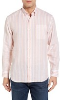 Tommy Bahama Men's Big & Tall Pintado Stripe Linen Sport Shirt