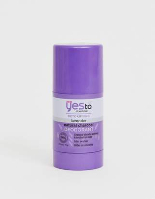 Yes To Detox Charcoal Natural Deodorant: Charcoal & Lavendar