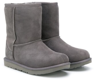 Ugg Kids TEEN textured ankle boots