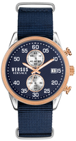 Versus By Versace V-Shoreditch Blue Dial Watch, 44mm