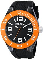 Kenneth Cole Reaction Unisex RK1337 Street Collection Analog Display Japanese Quartz Black Watch