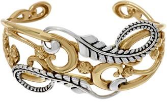 American West Earth Spirit Mixed Metal Cuff Bracelet