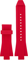 Michael Kors Access Men's Dylan Red Silicone Smartwatch Strap MKT9013