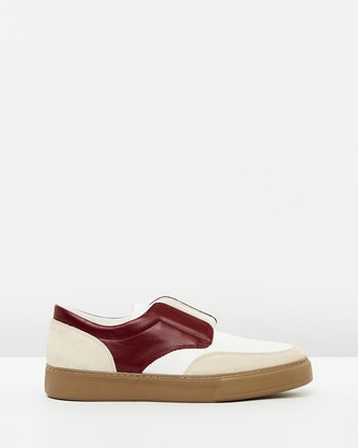 Cerruti Luxe Leather Slip Ons
