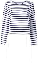 MM6 MAISON MARGIELA striped sweatshirt