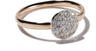 Pomellato 18kt rose gold small Sabbia diamond ring