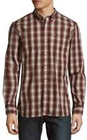 Victorinox Cotton-Blend Plaid Shirt