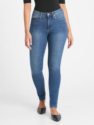Banana Republic Curvy Mid-Rise Skinny Jean with Back-Seam