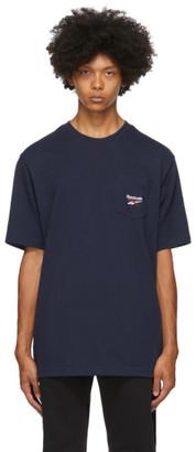 Reebok Classics Navy Pocket T-Shirt