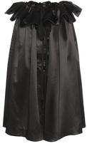 Ellery Impact Silk Satin Skirt