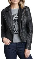 Free People Faux-Leather Moto Jacket