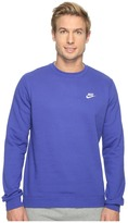 Nike Club Fleece Pullover Crew Men's Fleece