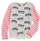 Tucker + Tate Toddler Girl's Print Sweater