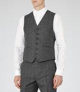 Reiss Reiss Host W - Wool Modern Waistcoat In Grey, Mens