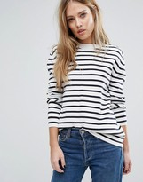 French Connection Breton Milano Stripe Sweater