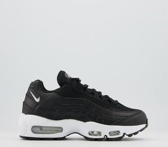 Nike 95 Trainers Black Black White F
