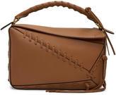 Loewe Tan Laced Puzzle Bag