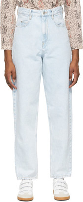 Etoile Isabel Marant Blue Corsysr Jeans