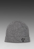 True Religion Solid Watchcap Beanie