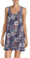 Kensie Floral Sleeveless Nightgown
