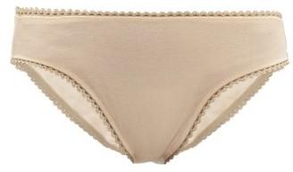 Araks Isabella Cotton Briefs - Womens - Nude