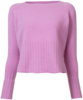 The Elder Statesman cashmere round neck jumper - women - Cashmere - S