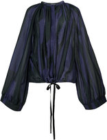 Ann Demeulemeester pleated blouse - women - Silk/Cotton - 38