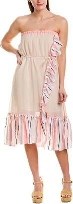 Lemlem Flounced Convertible Dress