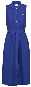 Lacoste SIHANNA women's Long Dress in Blue