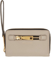 Marc Jacobs Taupe Gotham City Wallet