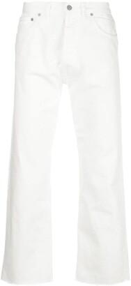 Maison Margiela straight cropped jeans