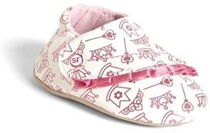 Stride Rite 'Royal Ruffles' Crib Shoe (Baby Girls)