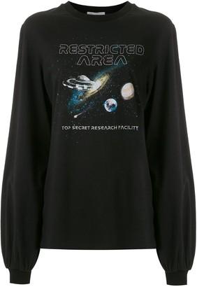Nk Space Print Sweatshirt