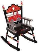 Levels of Discovery Fire Engine Rocker - Red