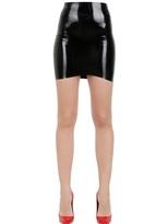 kim kardashian  Who made  Kim Kardashians corset sweetheart top, tan suede pumps, and latex skirt?