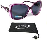 proSPORTsunglasses Womens Bifocal Sunglasses Oversized with Rhinestones 1.50, 2.00, 2.50, 3.00