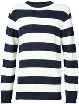 Junya Watanabe striped fitted sweater