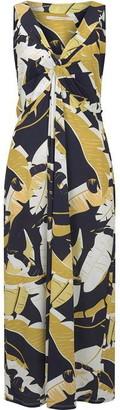 Nougat Sunflower Maxi Dress
