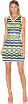M Missoni Relief Zig Zag Dress