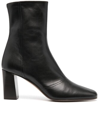 Michel Vivien Side Zip Ankle Boots