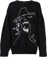 Yohji Yamamoto 'Yohji Face' pullover