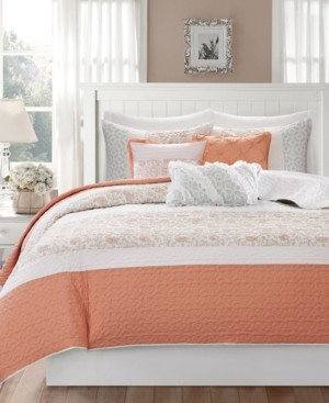 Madison Home USA Dawn 6-Pc. Quilted King/California King Coverlet Set Bedding