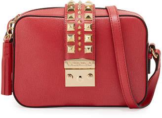 Mario Valentino Valentino By Lila Palmellato Leather Crossbody Bag