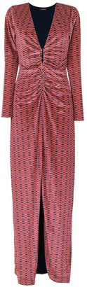 Olympiah Hunos printed dress