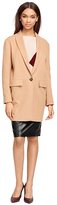 Brooks Brothers Camel Hair One-Button Coat