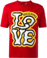 Love Moschino 'Love' T-shirt - men - Cotton - XS