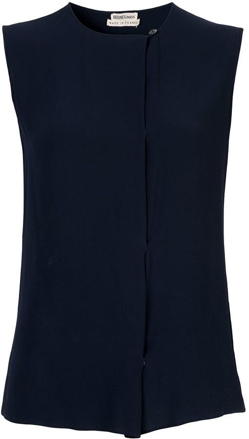 Hermes Pre-Owned sleeveless top