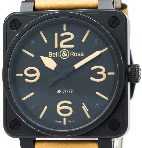 Bell & Ross Heritage BR01-92 Stainless Steel 46mm Mens Watch